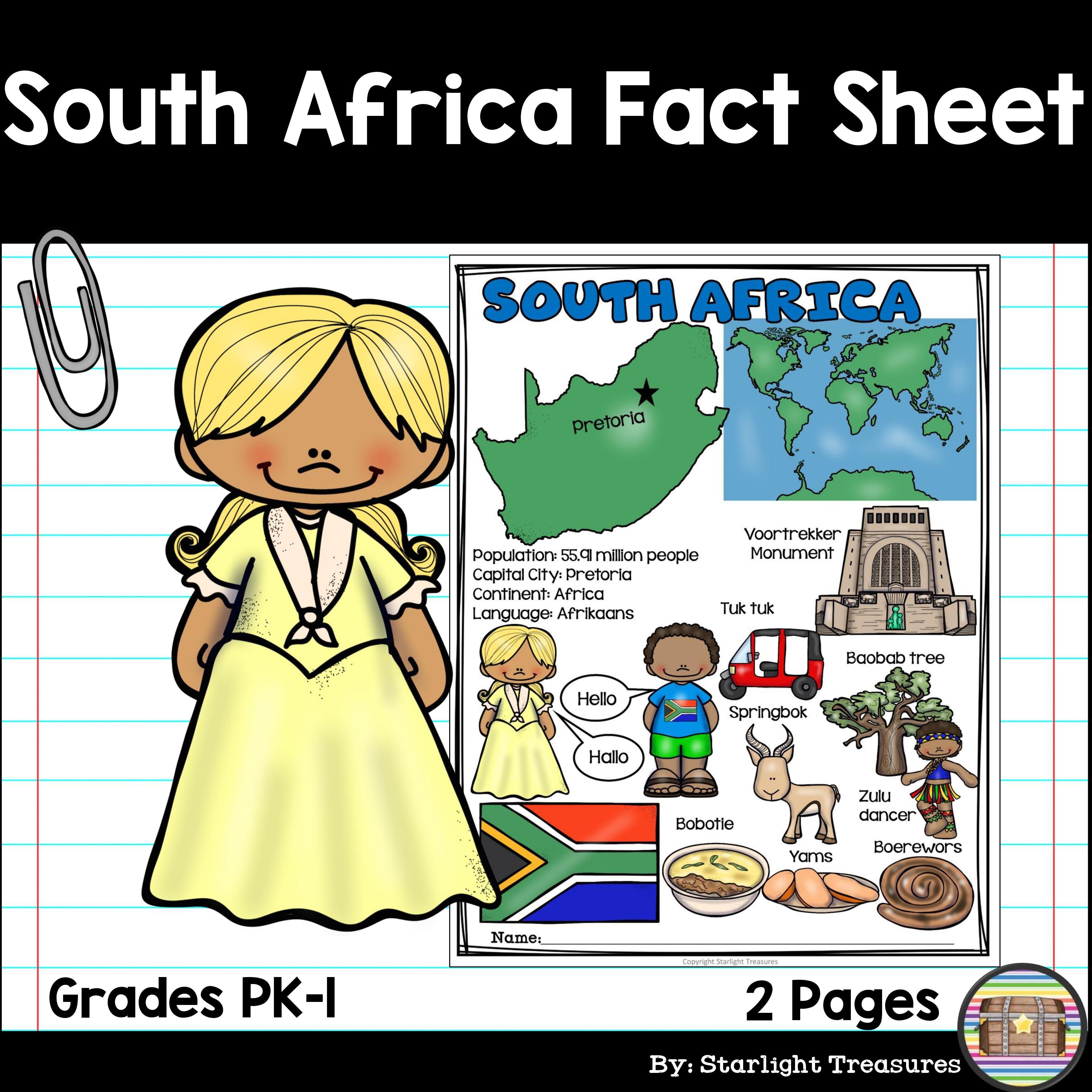 South Africa Fact Sheet