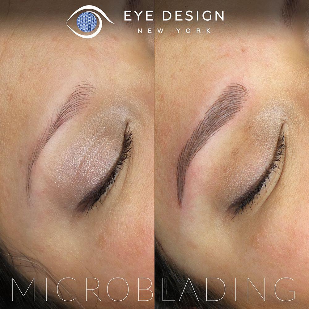 Eyebrow Microblading & Custom Design NY Eye Design