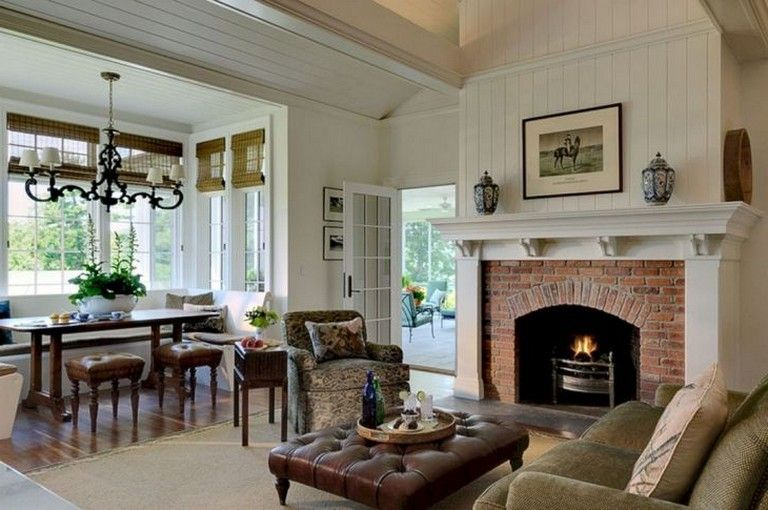 Small Keeping Room With Fireplace Ideas