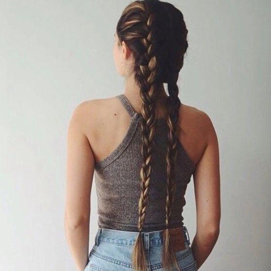 I love french braids