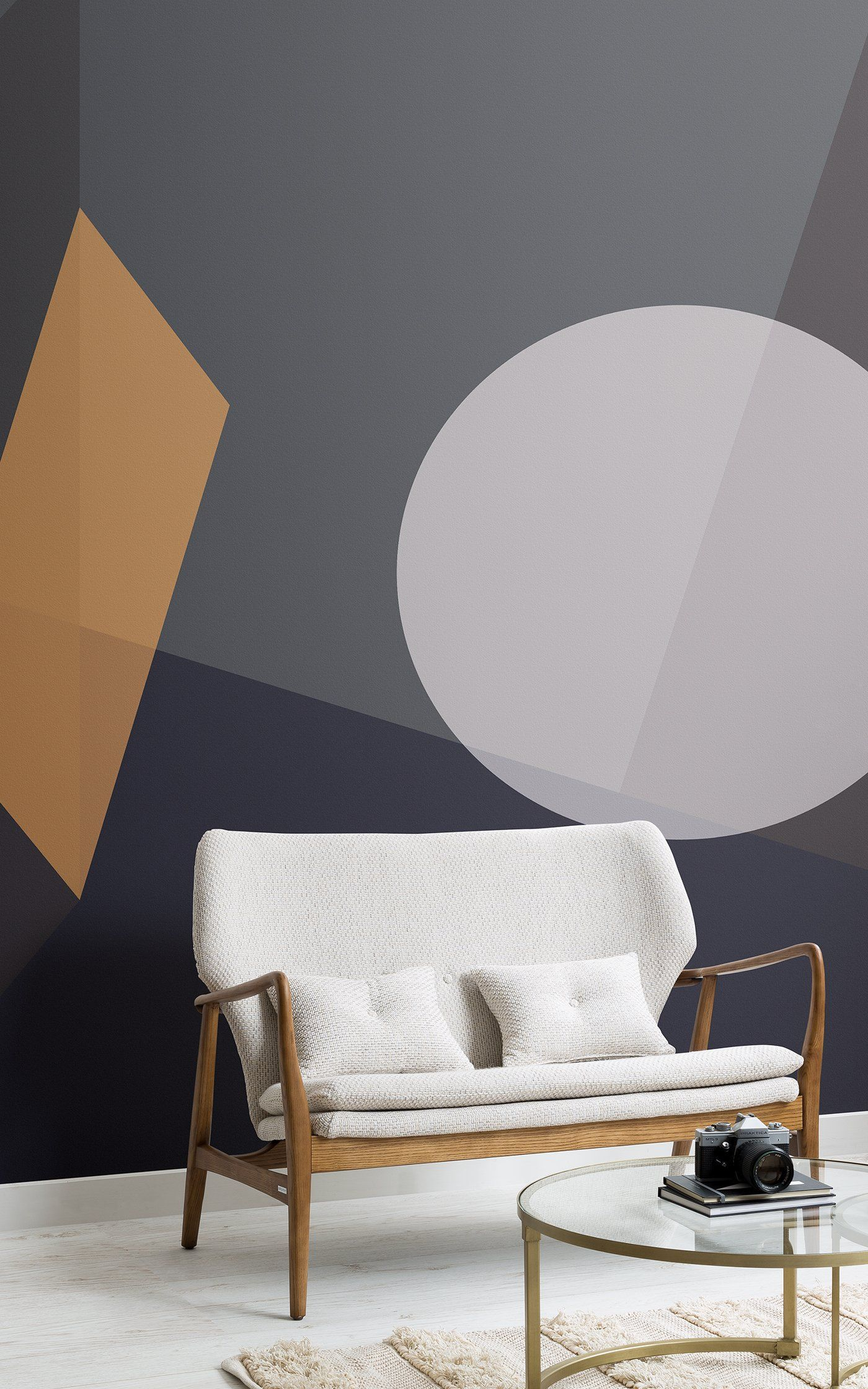 6 Wallpaper Ideas To Create A Modern Living Room In 2020