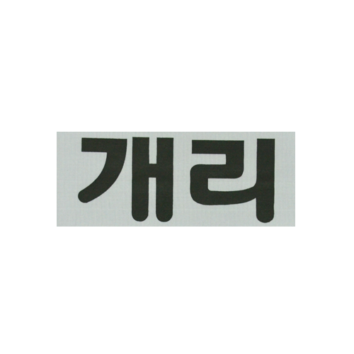Kang Gary S Nametag Running Man Korean Running Man Gary