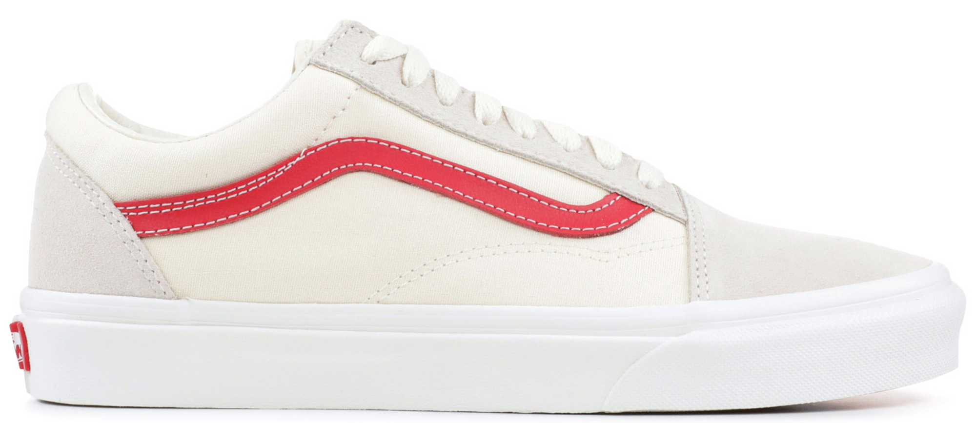 cd094a2c0b00 Check out the Vans Old Skool Cream Red available on StockX