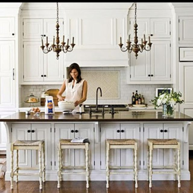Simply White Kitchens  Pottery Barn Kitchen Barn Kitchen And Barn Best Chandelier Kitchen Decorating Inspiration