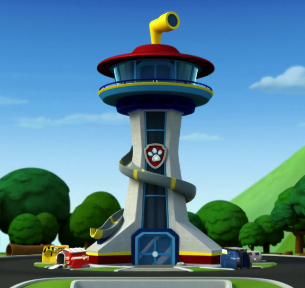 Paw patrol on pinterest paw patrol paw patrol cake and for Building a lookout tower
