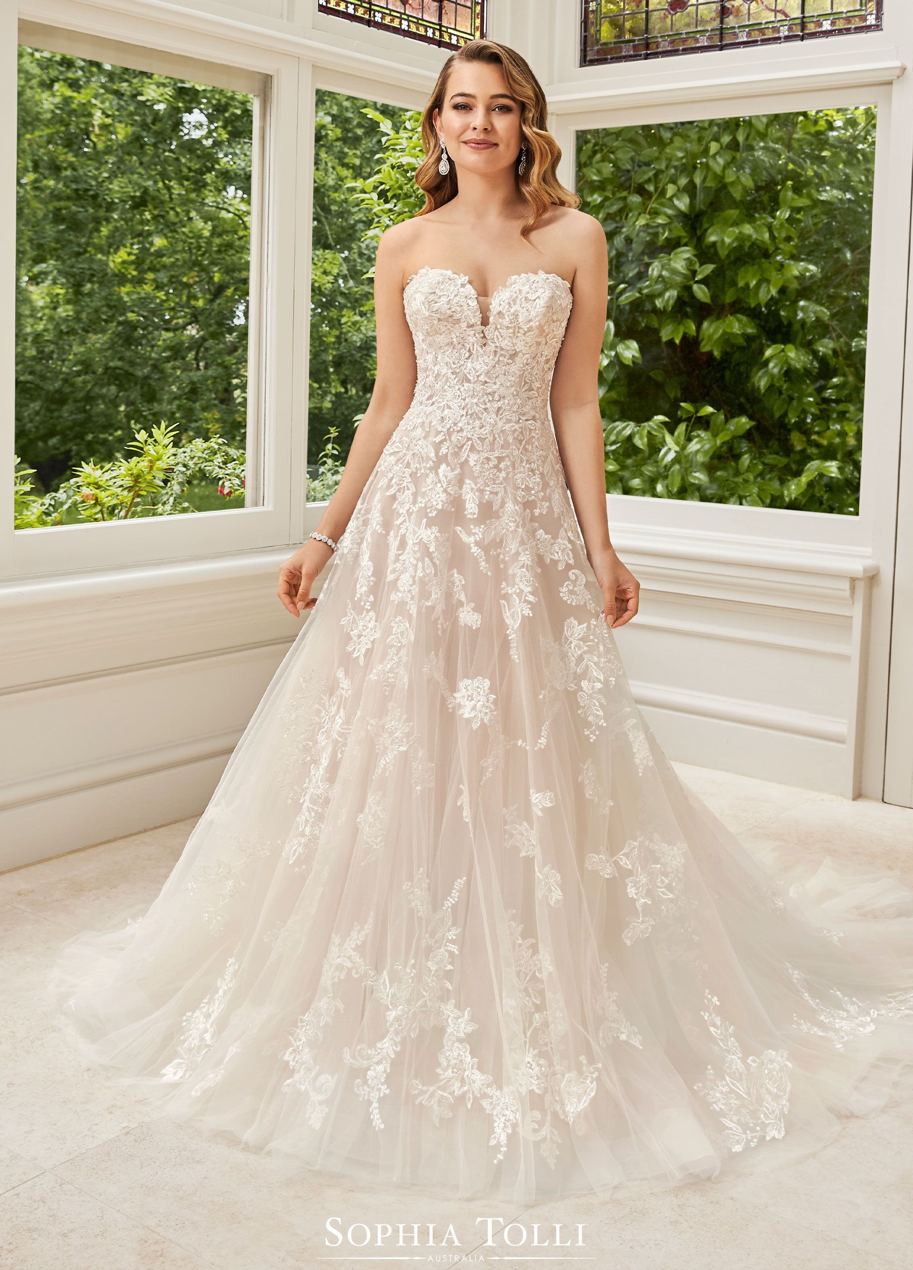 Sophia Tolli Wedding Gowns Y21971 Rosa In 2020 Vintage Style
