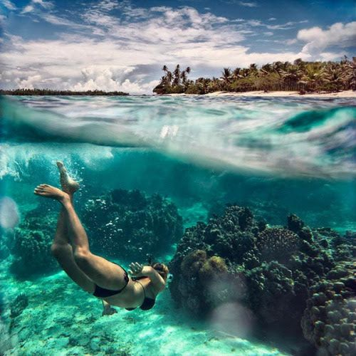 Beautiful Places Underwater: PAUL'S CORNER. MAY 7, 2017 #photography #water