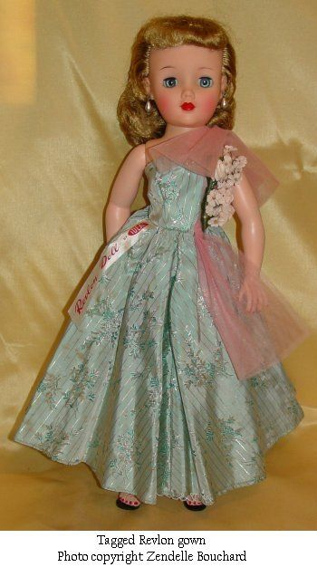 Another Revlon doll by Ideal | Vintage Ideal Dolls | Pinterest ...