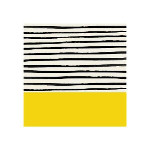 Sunshine Stripes 500mm x 500mm Framed Print ($74) ❤ liked on ...