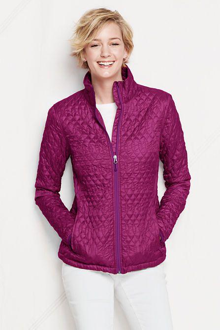 Women S Primaloft Packable Jacket From Lands End For