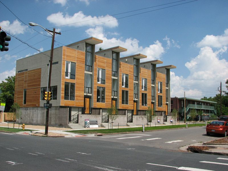 Row Housing Multifamily In 2019 Small Modern House