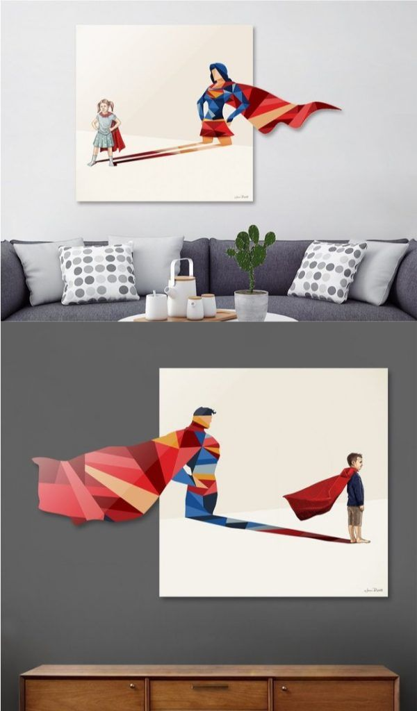 Awesome Superhero Home Decor For Themed Rooms U0026 Parties