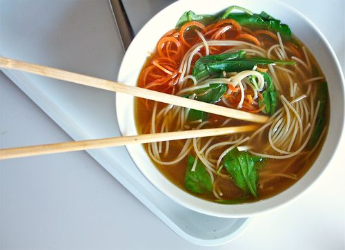 Sick Day Vegetarian Pho
