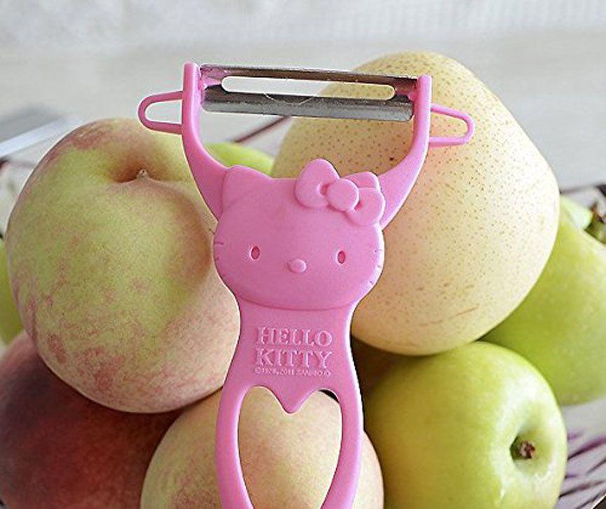 Japanese SANRIO HELLO KITTY Peeler PINK From JAPAN KAWAII