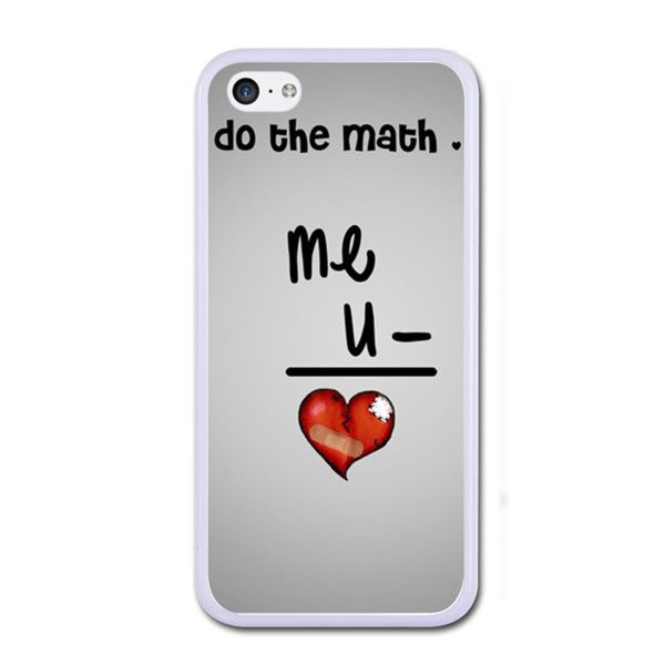 Do The Match Love iPhone 5C Rubber Case White iPhone 5C Rubber Case |... ($22) ❤ liked on Polyvore featuring accessories and tech accessories