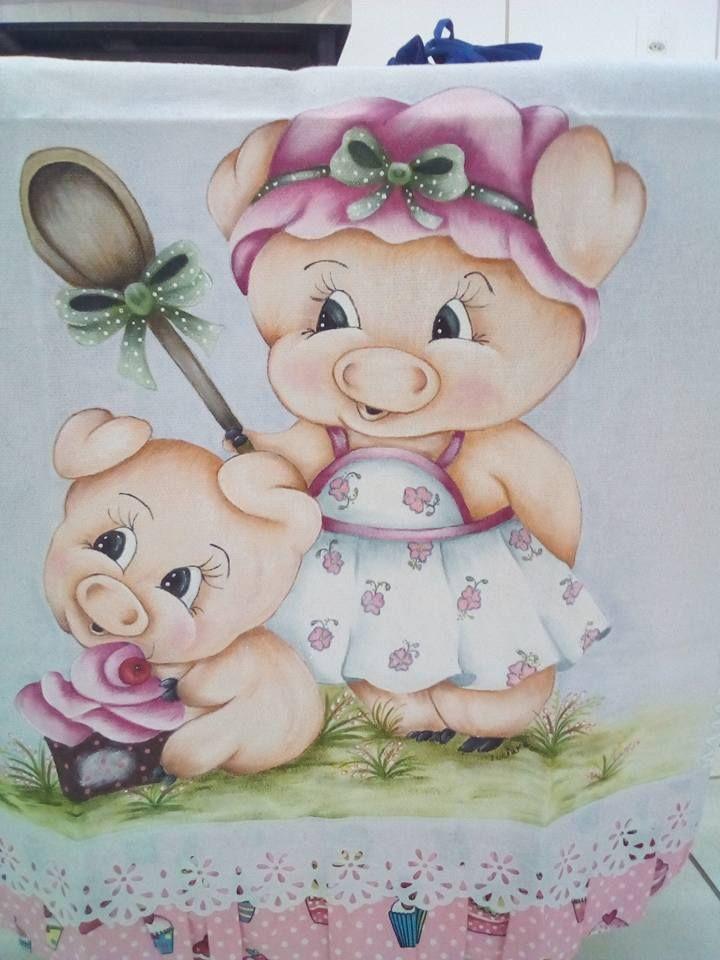 Pingl sur cochon - Image de cochon mignon ...