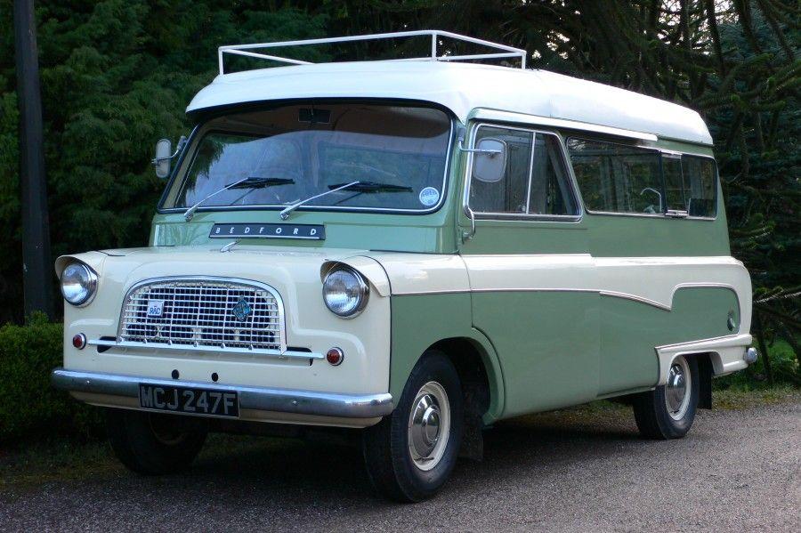 1968 Bedford CA Dormobile Romany Motorhome | panelvan | Pinterest ...