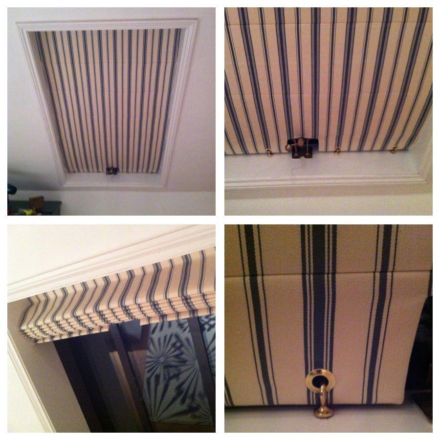 Velux window blinds new home claraboya cortinas y - Cortinas para tragaluz ...