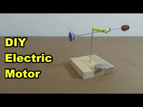 simple homemade electric motor. Homemade Electric Motor - YouTube Simple