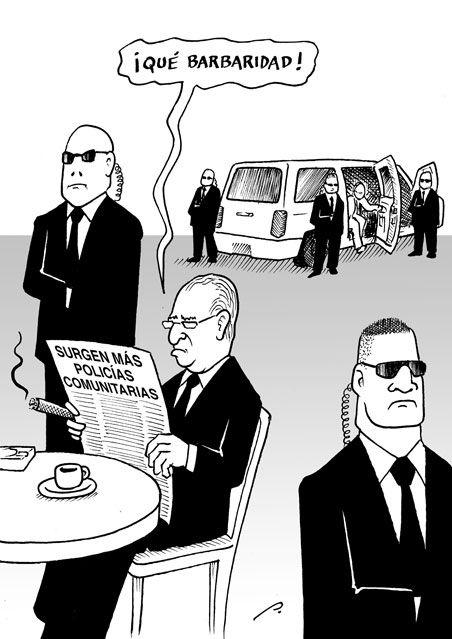 """""""Estado rebasado"""" Cartón de Perujo #política #México #Humor #Cartones"""