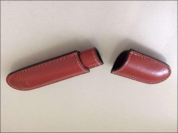 Bild 3: Etui für 1 Schreibgerät rot
