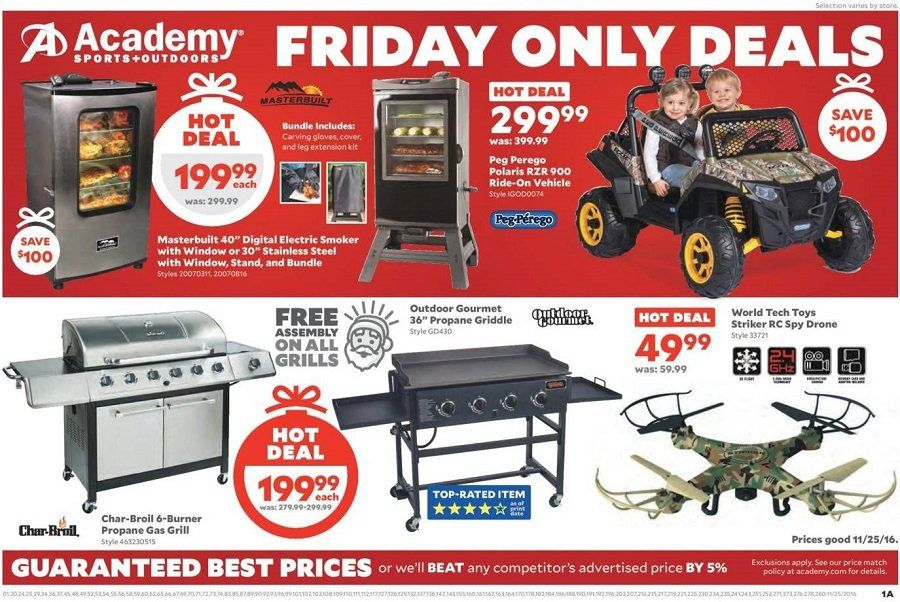 Academy Sports + Outdoors 2019 Black Friday Ad Black