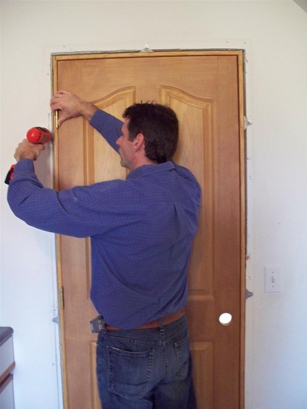 Ez Hang Door Installation Brackets Make Interior Pre Hung Door Installation  A Snap.