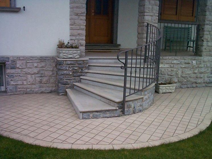 Pin di giuseppe luccarelli su scale scale esterne for Scale esterne in pietra