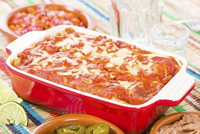 Homemade Red Enchilada Sauce. An easy recipe the whole family will love.