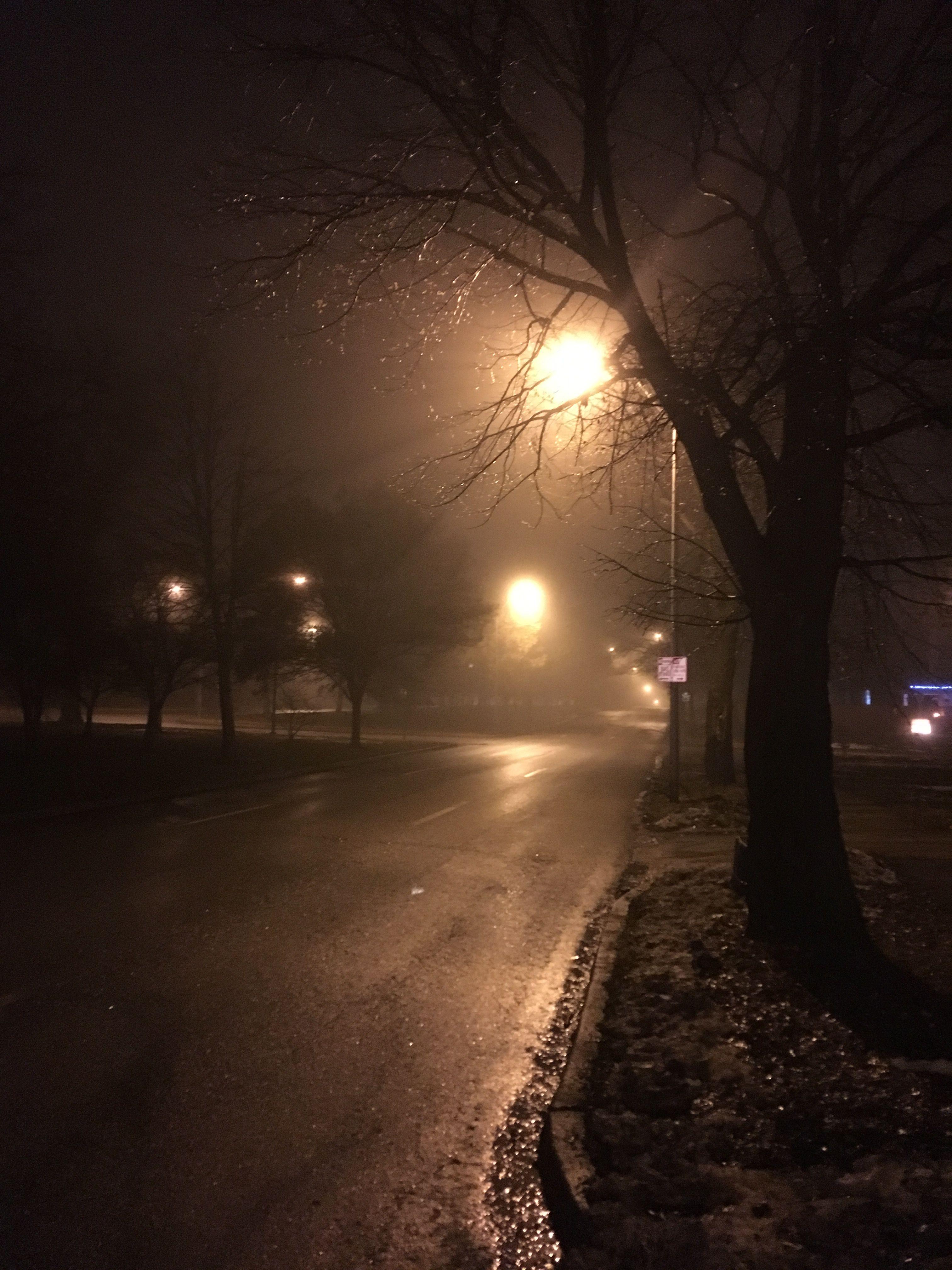 Late night fog Kansas City, MO Night, Kansas city, Fog