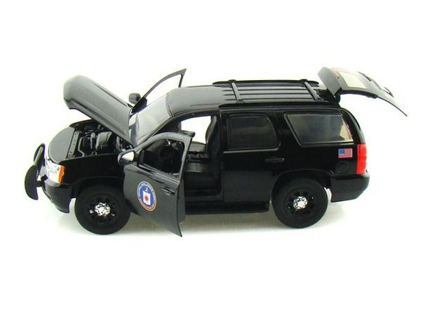 Jada Toys Hero Patrol Precints 1/24 Scale 2010 Chevrolet Chevy Tahoe CIA Diecast Car Model 96294