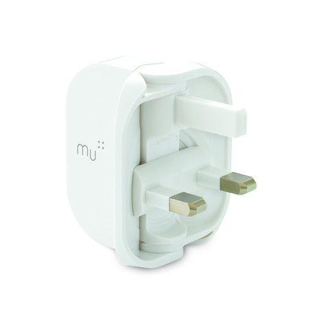 Mu Classic - Folding UK USB Charger for Smartphones