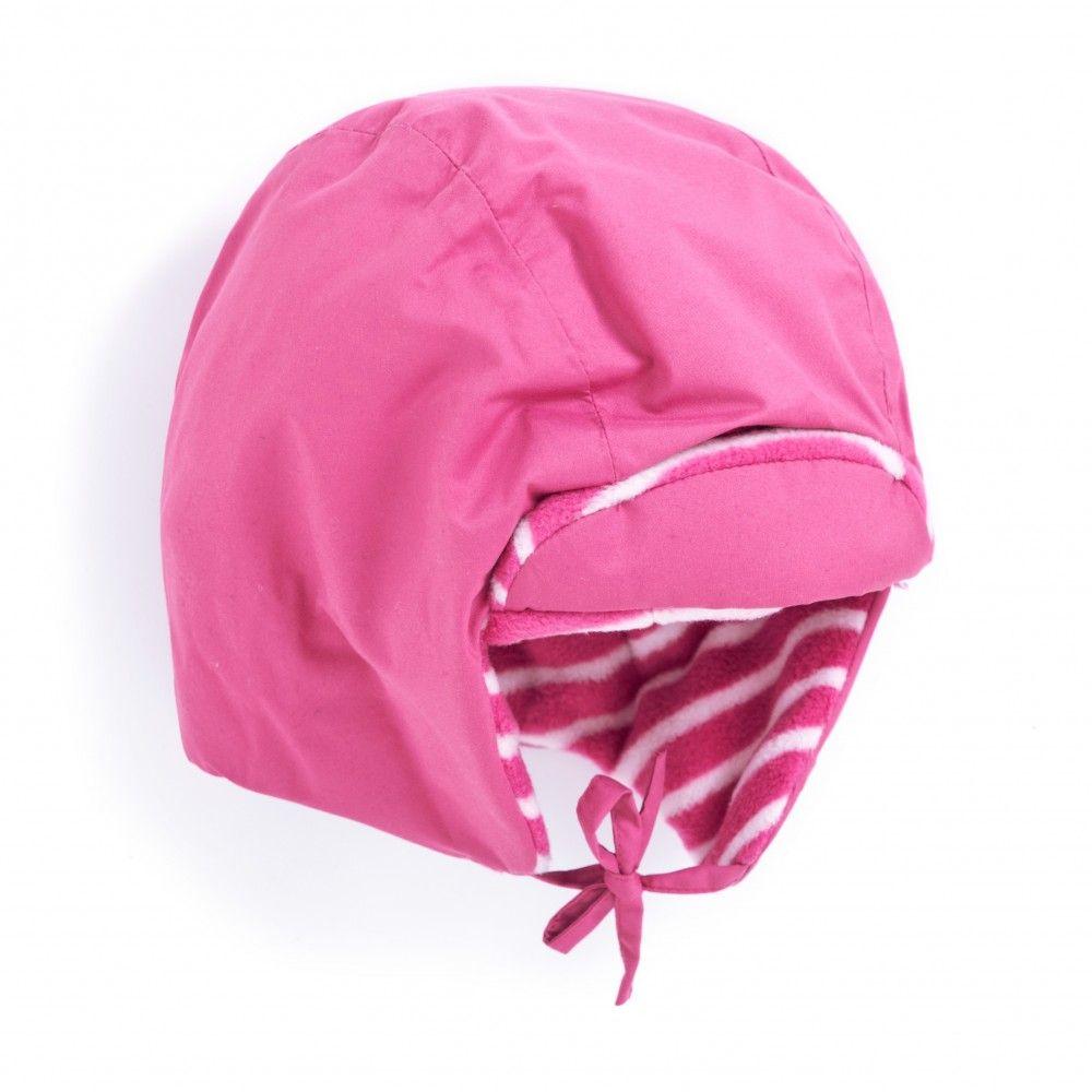 Fleece Lined Waterproof Hat in Fuschia | JoJo Maman Bebe
