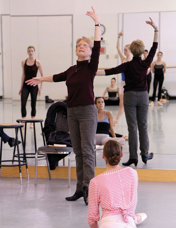 Francia Russell | Pacific northwest ballet. Dance teacher. City ballet