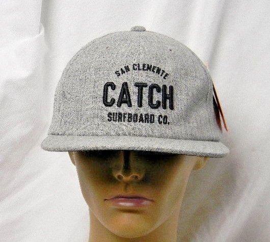 d7c5df52ffe San Clemente Catch Surfboard Co Hat Cap 2016 Grey Flat Brim One Of A Kind  Sample
