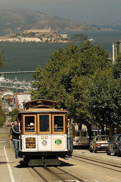 Still a great way to see the sights. Photo by P. Nijenhuis.   SAN FRANCISCO