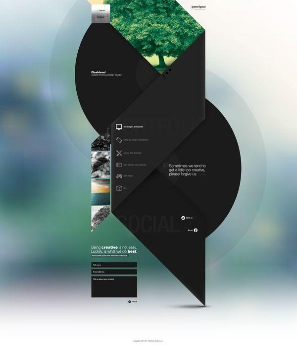 Web layout concept