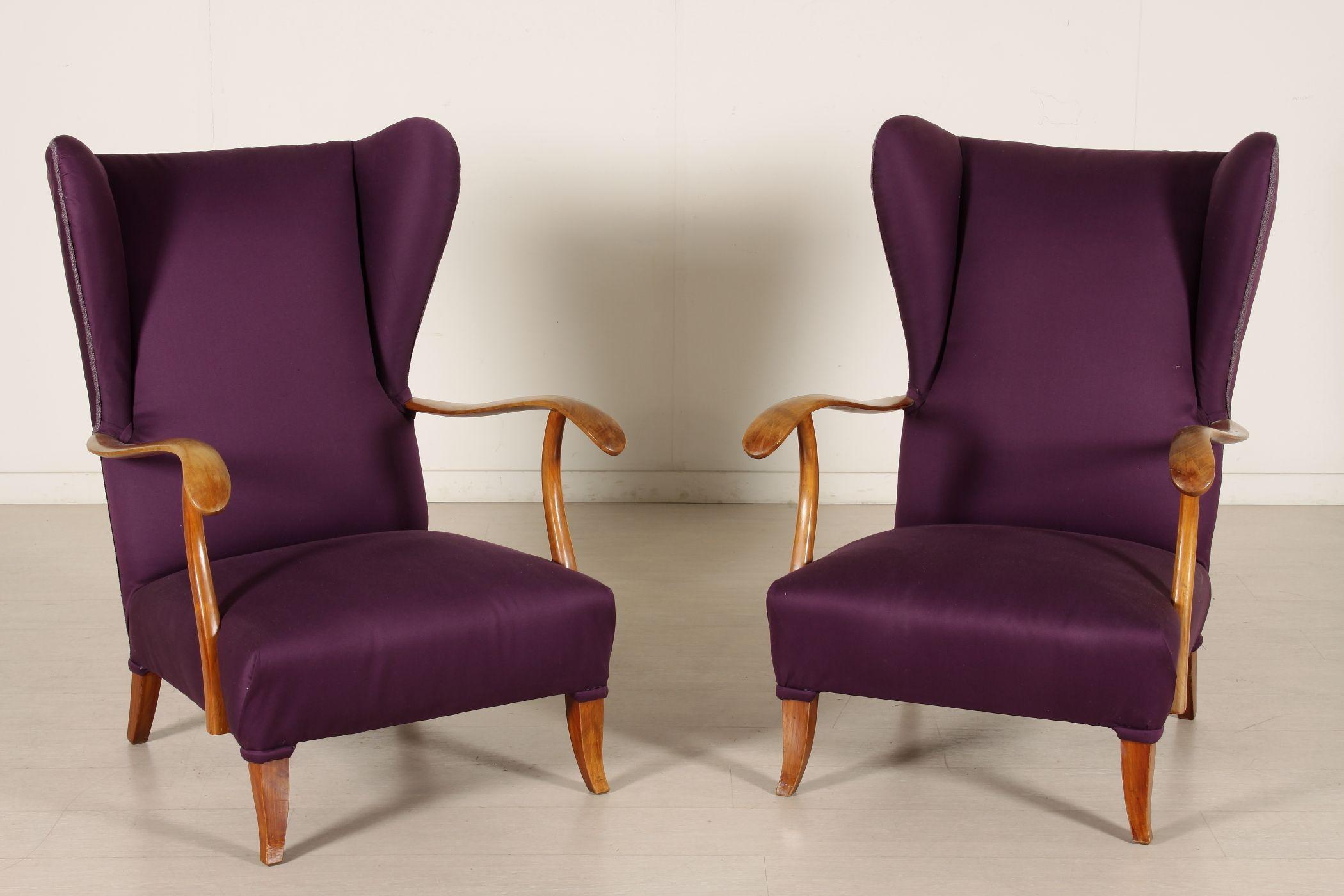 Poltrone anni 40-50 #anticonline #sedie #sedute #arredamento ...