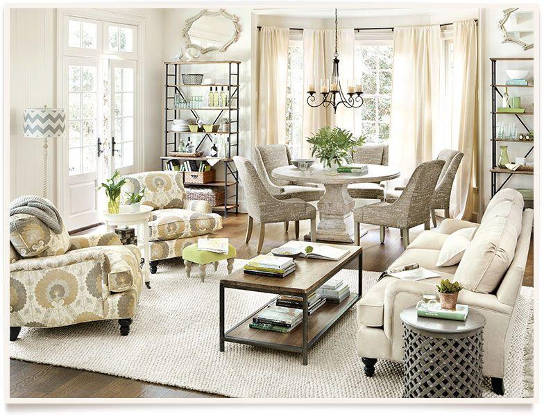 Ballard designs ethan living room this is it that