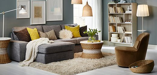 Salon Ikea Home Living Room Pinterest Salons Salon Cosy And - Fauteuil salon ikea