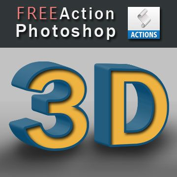 3d Photoshop Action Free Download 3d Effects Actions For Photoshop Photoshop Actions Free Download Free Photoshop Actions Photoshop Actions