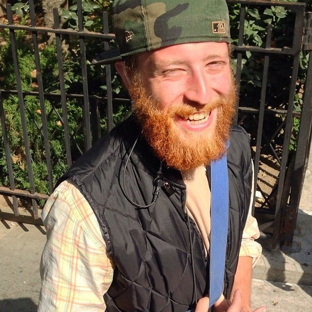 """There are gingers who are proud of it, there are gingers who are embarrassed by it, and then there are people like me, who are indifferent and just don't give a fuck."" Corey, TV and film production assistant #gingersofnewyork"
