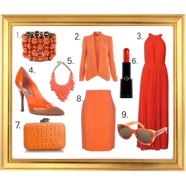 Orange Sherbert via Rachel The Art Muse