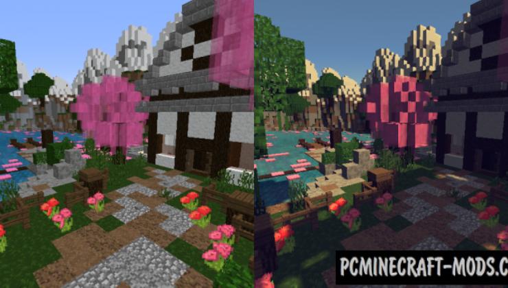 Minecraft Connected Textures