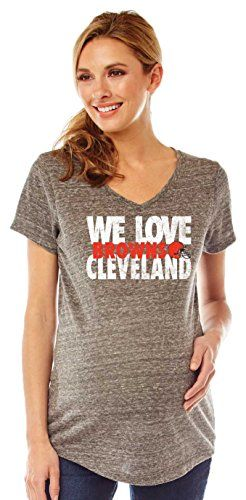 Cleveland Browns Maternity Wear  8e3988313