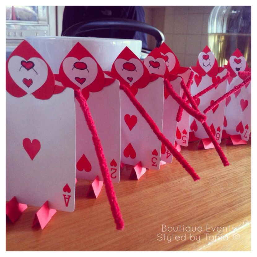 Hand made queen of heart card soldiers for alice in wonderland mad hand made queen of heart card soldiers for alice in wonderland mad hatter theme party with decorations styled created by boutique events styled by tania junglespirit Choice Image