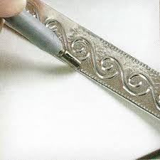 Moldes De Repujado En Aluminio Buscar Con Google Repujado Repujado En Metal Arte Con Papel De Aluminio