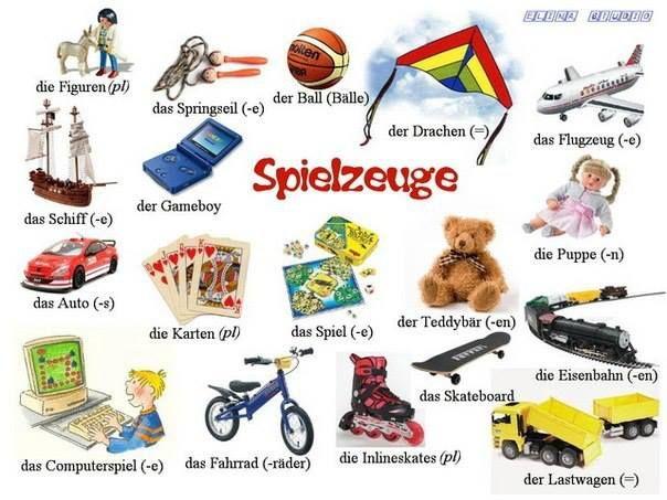 spielzeuge wortschatz teaching pinterest language german language and german resources. Black Bedroom Furniture Sets. Home Design Ideas
