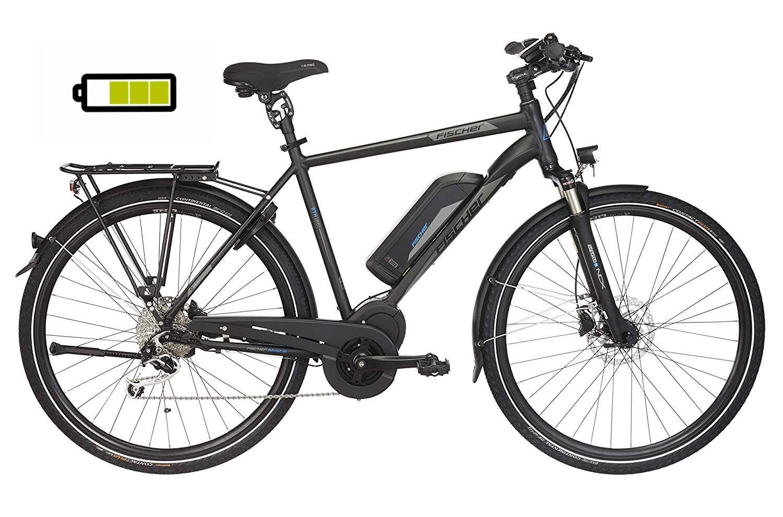 Fischer Herren E Bike Trekking Eth 1861 1 Schwarz Matt 28 Zoll Rh 50 Oder 55 Cm Mittelmotor In 2020 E Bike Trekking Elektrofahrrad E Bike
