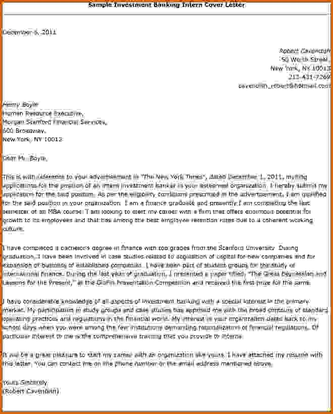 Investment Bank Cover Lettersume Letter Sample Job Resume Teller
